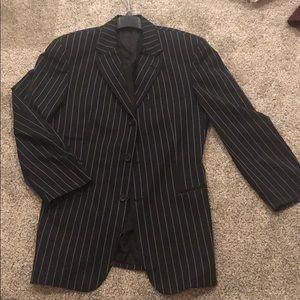 Hugo Boss pinstripe sports coat/blazer sz 40R